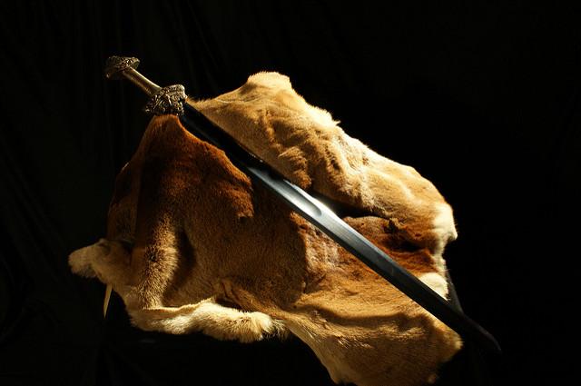 sword-laying
