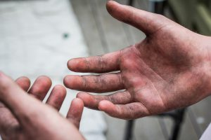 Working Hands by aaron gilson via Flickr [CC BY-NC-ND 2.0]