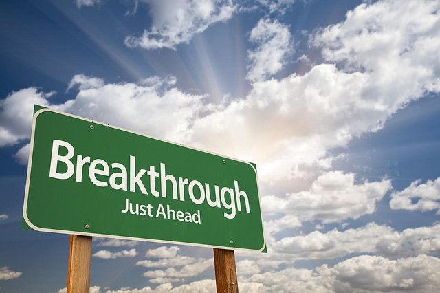 breakthrough-green-road-sign
